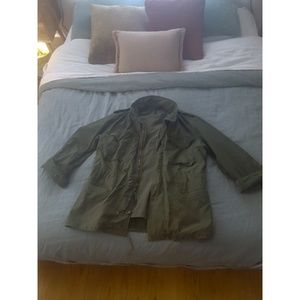 Unisex Army Green Jacket